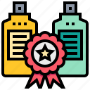 best, discount, ribbon, sale, seller icon