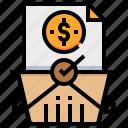basket, checkout, dollar, money