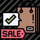 bag, sale, purchase, shopping, shop