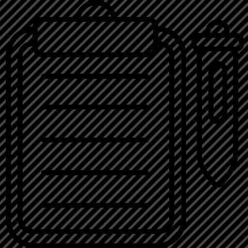bookmark, favorite, list note, wishlist icon