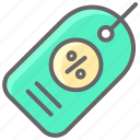black friday, cyber, discount, hanging tag, monday icon