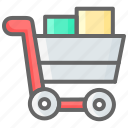 cart, cyber, discount, filled, monday, shopping