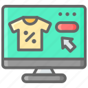 cart, cyber, mobile, monday, phone, shopping icon