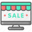 black friday, cyber, monday, onlineshop, sale, website icon