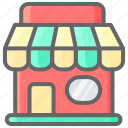 building, cyber, front, monday, shop, store icon