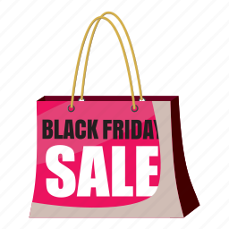 cartoon, friday, offer, package, price, promotion, sale icon