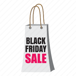 bag, cartoon, discount, friday, poster, sale, shopping icon