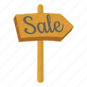 carry, cartoon, interest, money, sale, walk, wooden icon