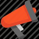 blackfriday, bullhorn, megaphone icon
