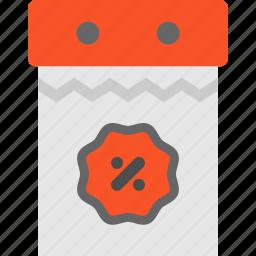 blackfriday, calendar, discount icon