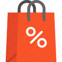 bag, blackfriday, discount, shopping icon