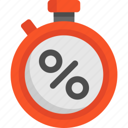blackfriday, discount, stopwatch, timer icon