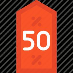 blackfriday, discount, tag icon