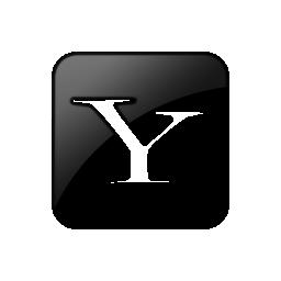 099381, logo, square, yahoo icon