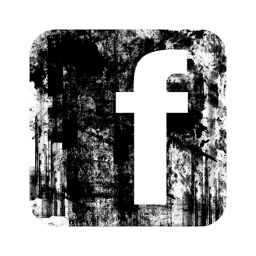circle, cute, facebook, grunge, logo, square icon