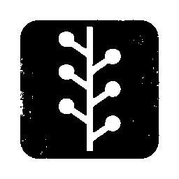 097707, logo, newswire, square icon