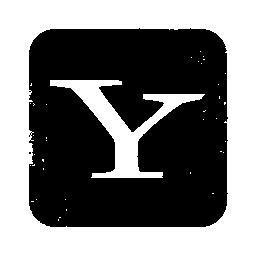 097746, logo, square, yahoo icon