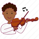 black man, job, musician, música, músico, profession, professional, song icon