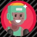avatar, boxing, girl, sport, woman