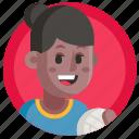 avatar, girl, sport, volleyball, woman