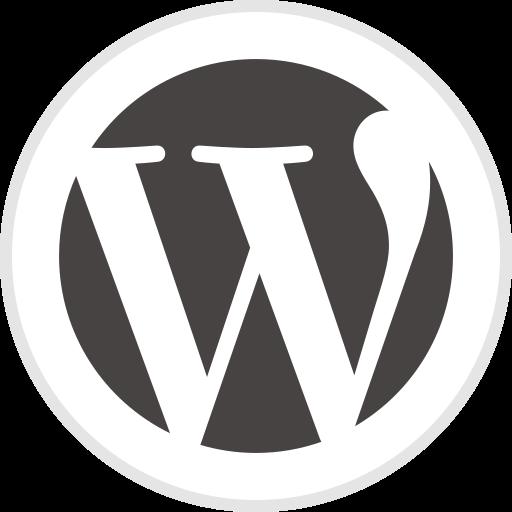 logo, media, social, wordpress icon