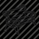 blacksmith, furniture, garden, metal icon