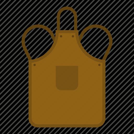 apron, blacksmith, craft, iron, metal, protection, worker icon