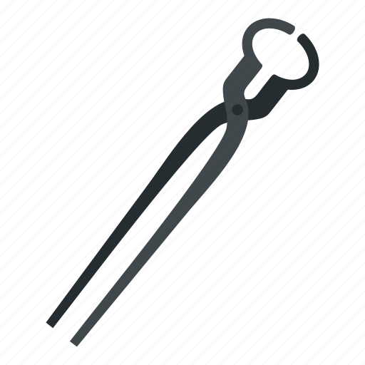 industrial, lock, metal, old, open, pincers, tool icon