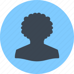 afro american, avatar, male, man, profile, user icon