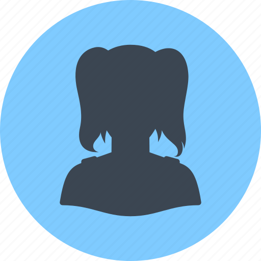 avatar, female, girl, profile, user, woman icon
