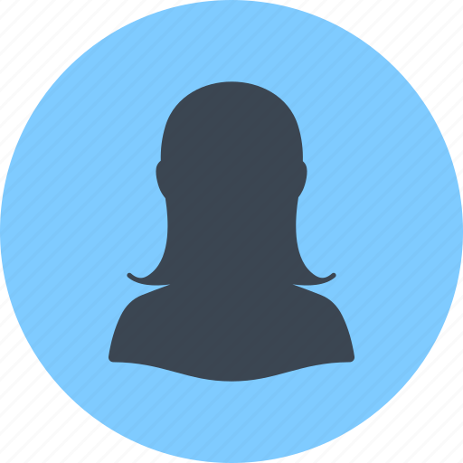 avatar, female, profile, user, woman icon