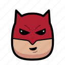 daredevil, superhero, hero, cartoon