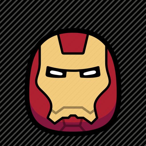 Cartoon, hero, ironman, superhero icon - Download on Iconfinder