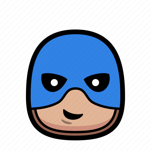 America, captain, cartoon, hero, superhero icon - Download on Iconfinder