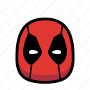 superhero, deadpool, hero, cartoon