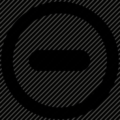 block, cancel, no, prevent, prohibit, stop icon