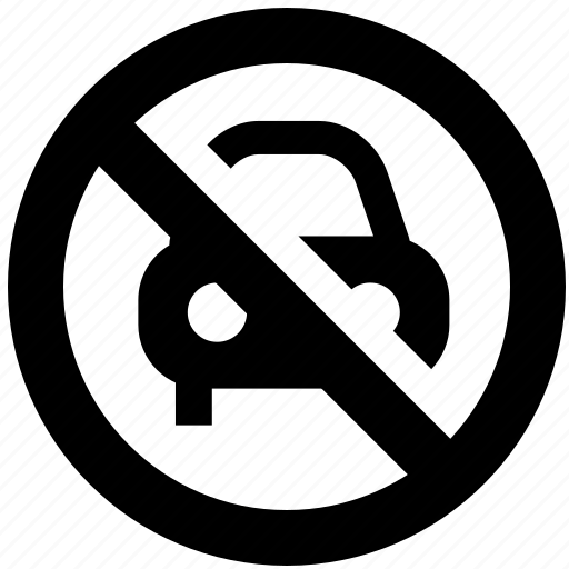 ban, block, car, forbidden, prevent, prohibit icon
