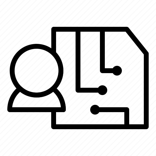 data, sarver, technology icon