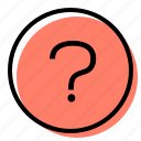 faq, question, speech bubble, customer service