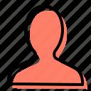 user, profile, account, personal