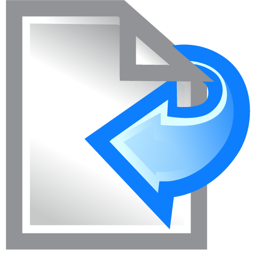 document, left, paper icon