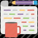 article promotion, blog management, blog marketing, blog processing, online journals icon