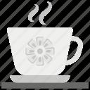 coffee break, refreshment time, rest time, tea break, tea time icon