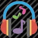 audio music, headphone, listening music, mobile music, music icon