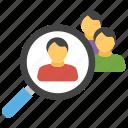 find friends, friend list, friend suggestion, searching friends, social media icon
