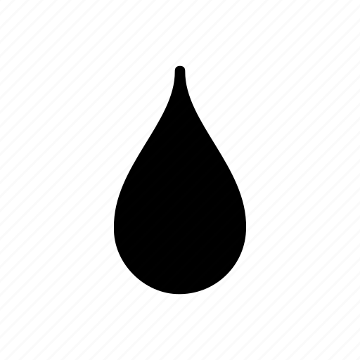 blood, drip, drop, ink, liquid, type, water icon