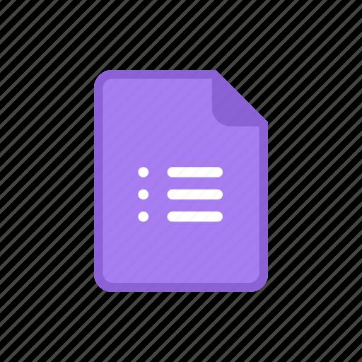 Resultado de imagen para google forms icon