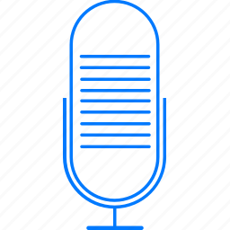 audio, mic, microphone, sing icon