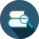 book, books, education, library, literature, reading, study icon