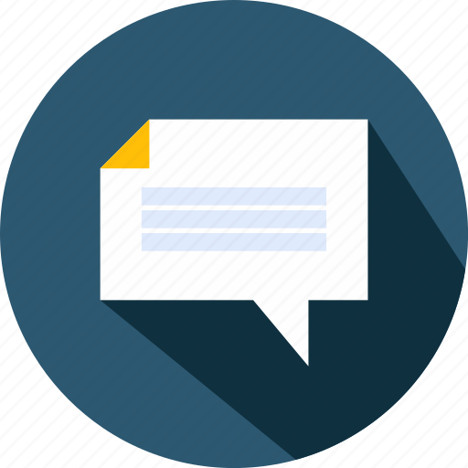 archive, education, marketing, speech, speechbubble icon